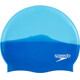 speedo Multi Colour Silicone Cap Neon Blue/Japan Blue